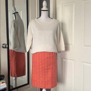 ⬇️REDUCED!! J.Crew No.2 tweed pencil skirt
